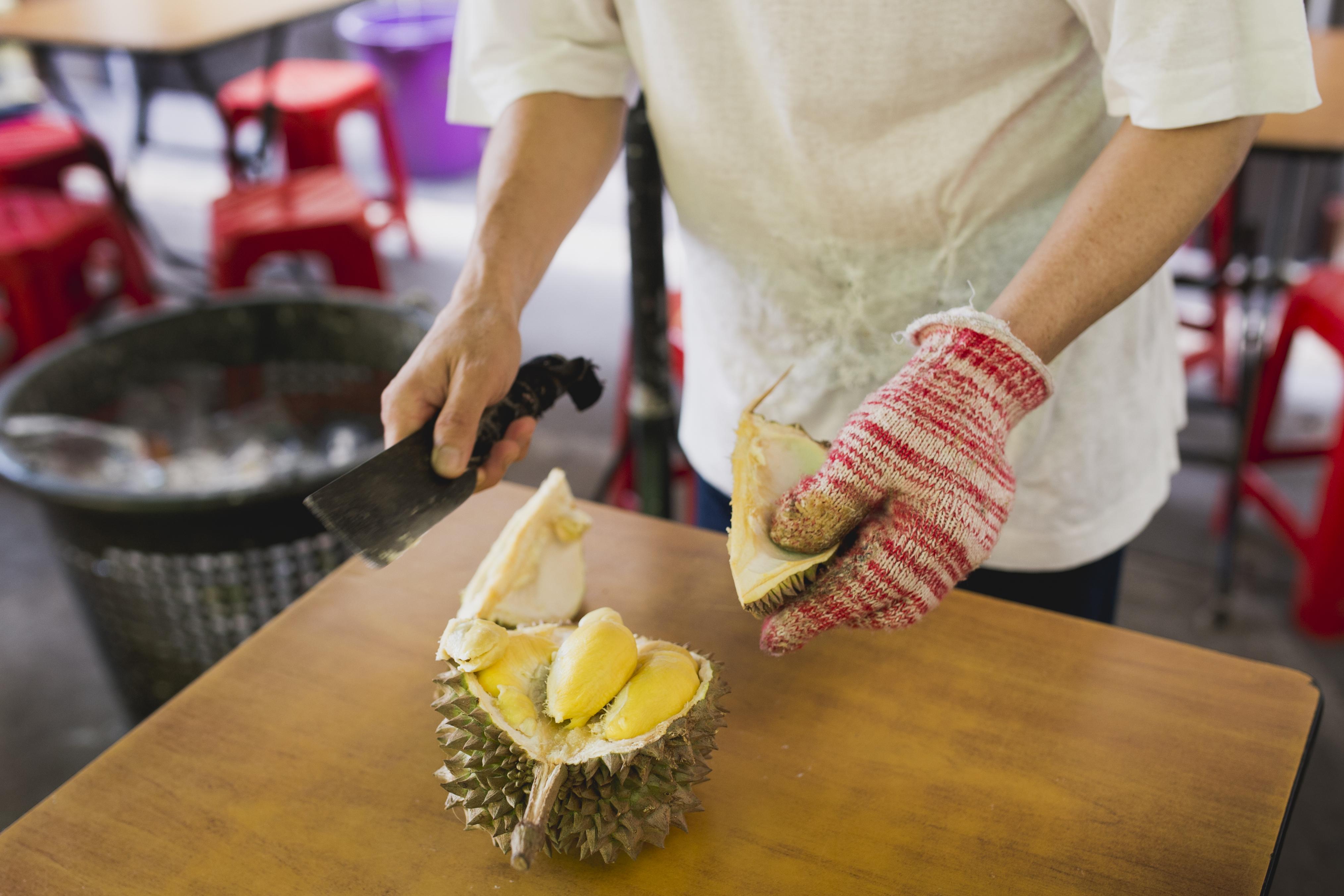 Durian Vendor