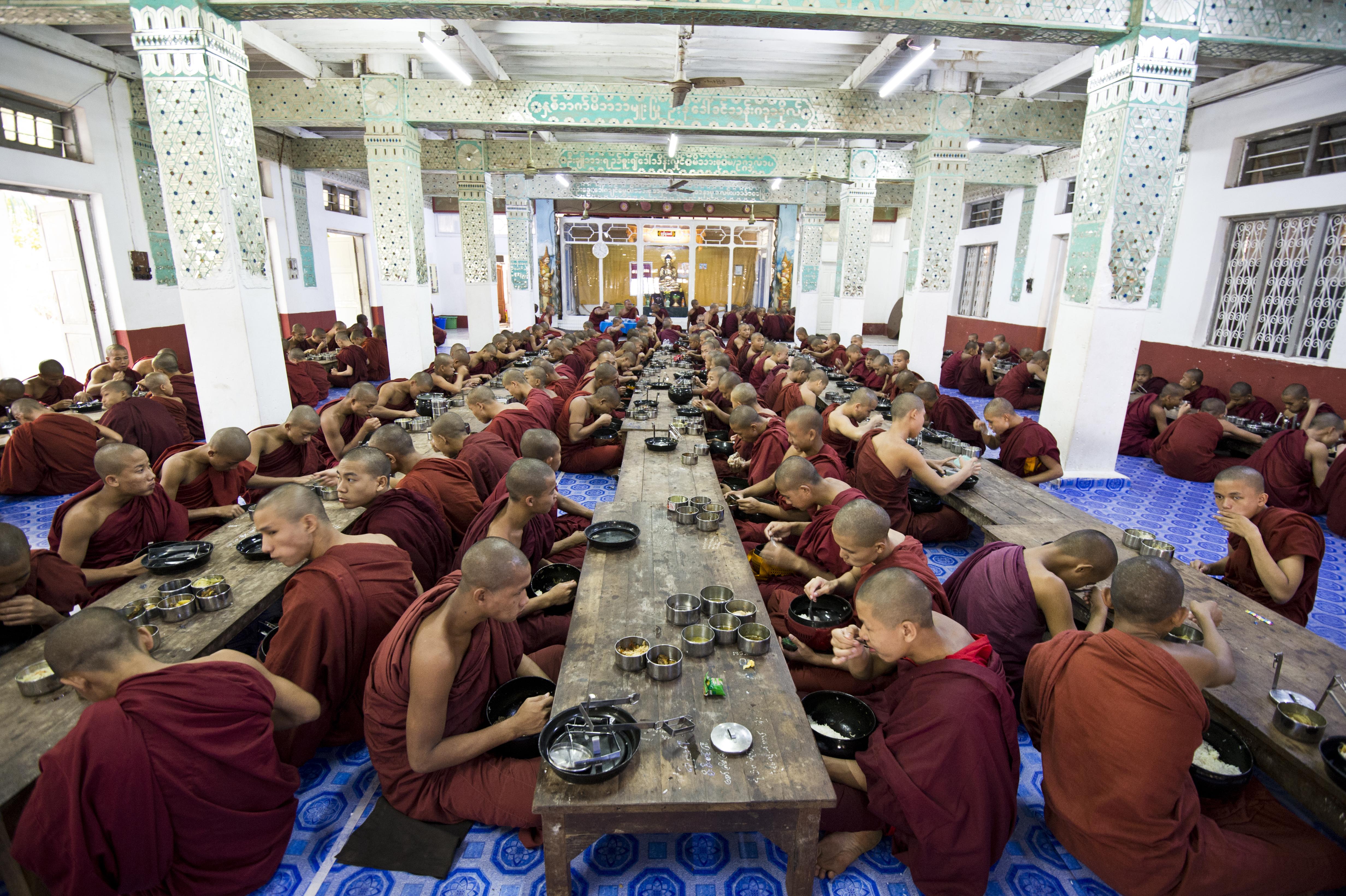 Monastery Lunchtime