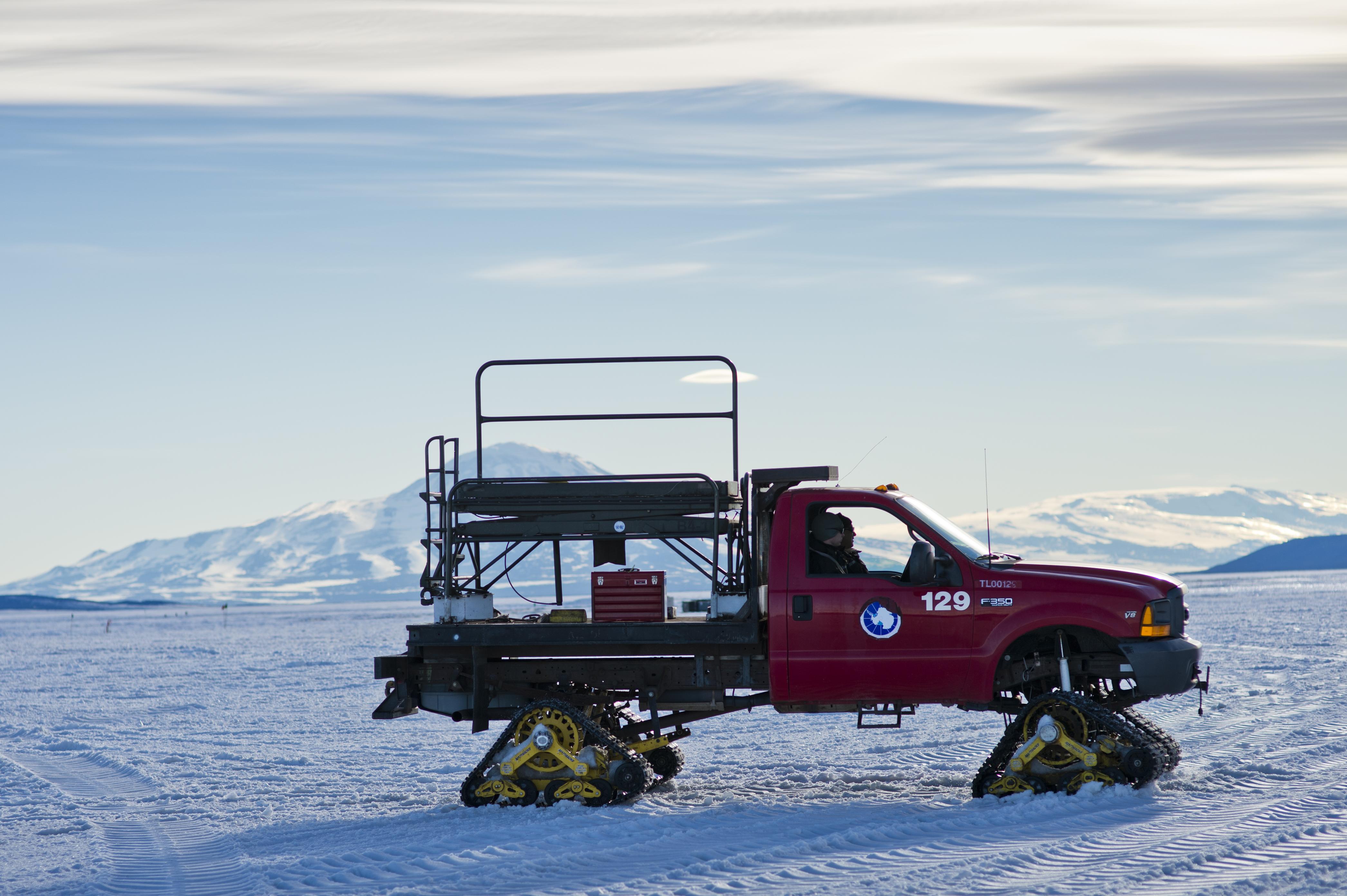 Antarctic Truck