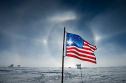 American Flag Sundog