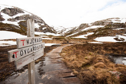 Route to Kjeragbolten