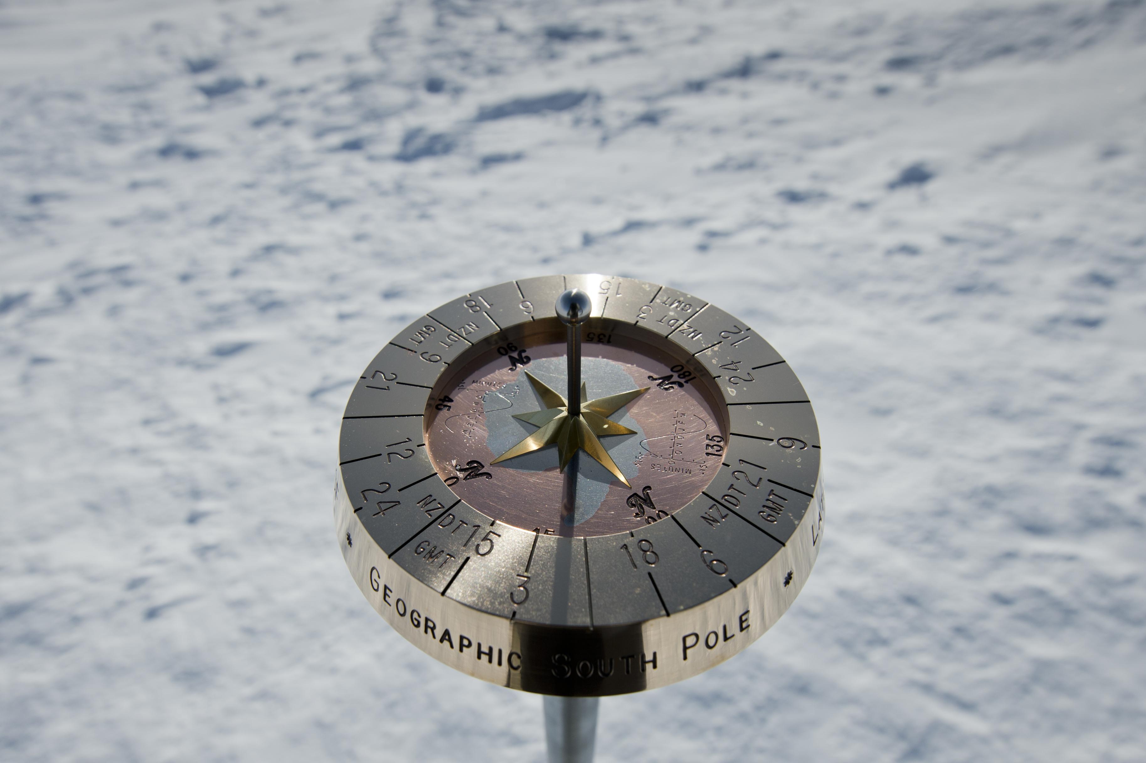 South Pole Sundial