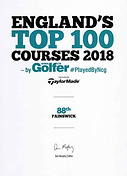England Top 100 Golf Courses
