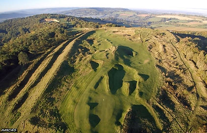 Overview of Painswick Golf Course
