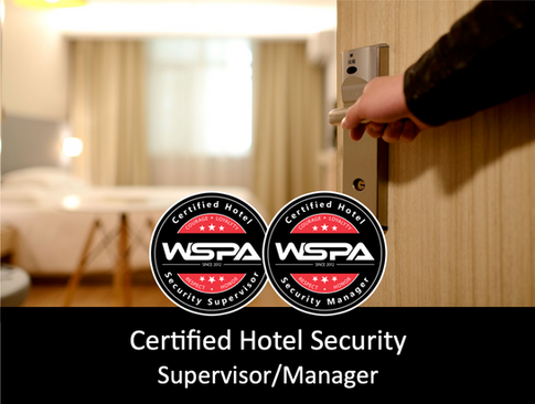 Certified Hotel Security Supervisor/Manager