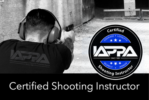 Certified Shooting Instructor