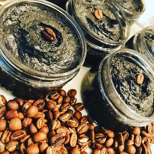 CHARCOAL + COFFEE SCRUB SOAP
