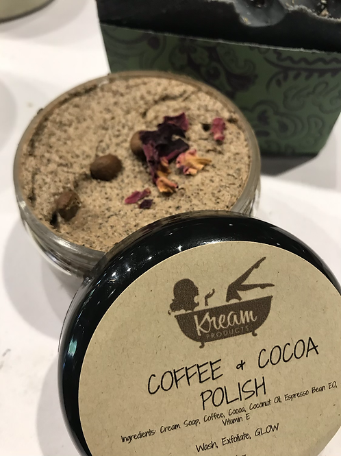 COFFEE & COCOA FACIAL POLISH