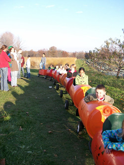 KCB Express Pumpkin Train