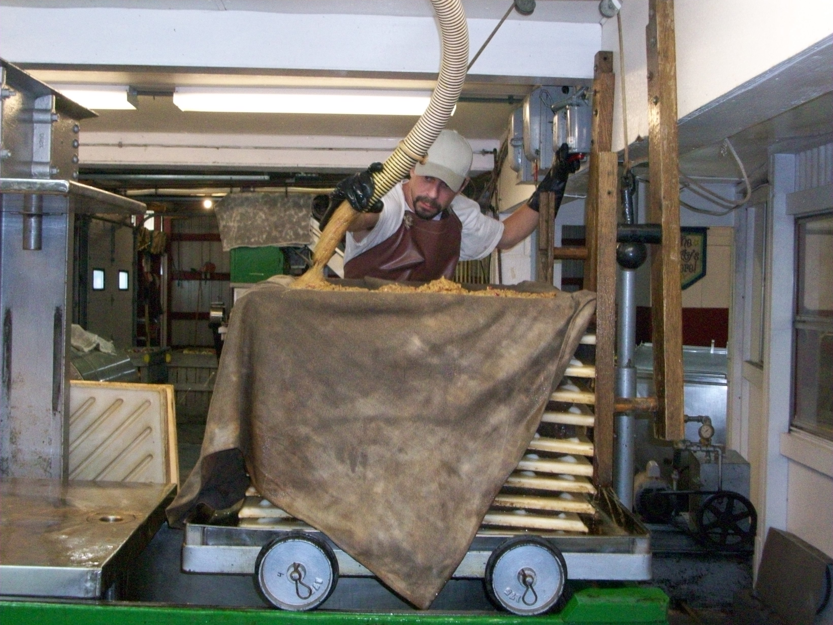 Watch Cider Making in action