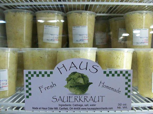 Haus Homemade Sauerkraut