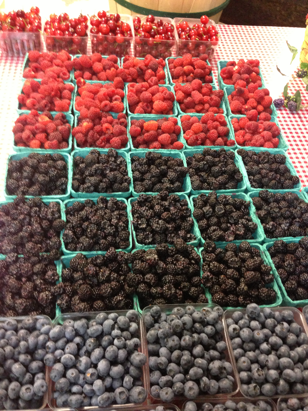 Berries Available in the Market