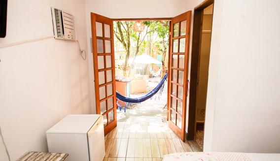 Suite Garaná c/ varanda e rede privativa