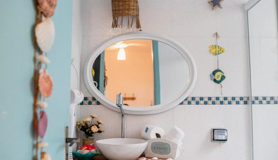 Banheiro privativo c/ secador