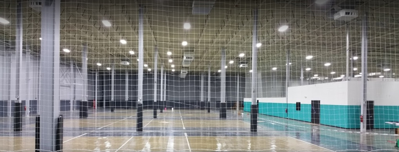 Volleyball and Basketball Courts