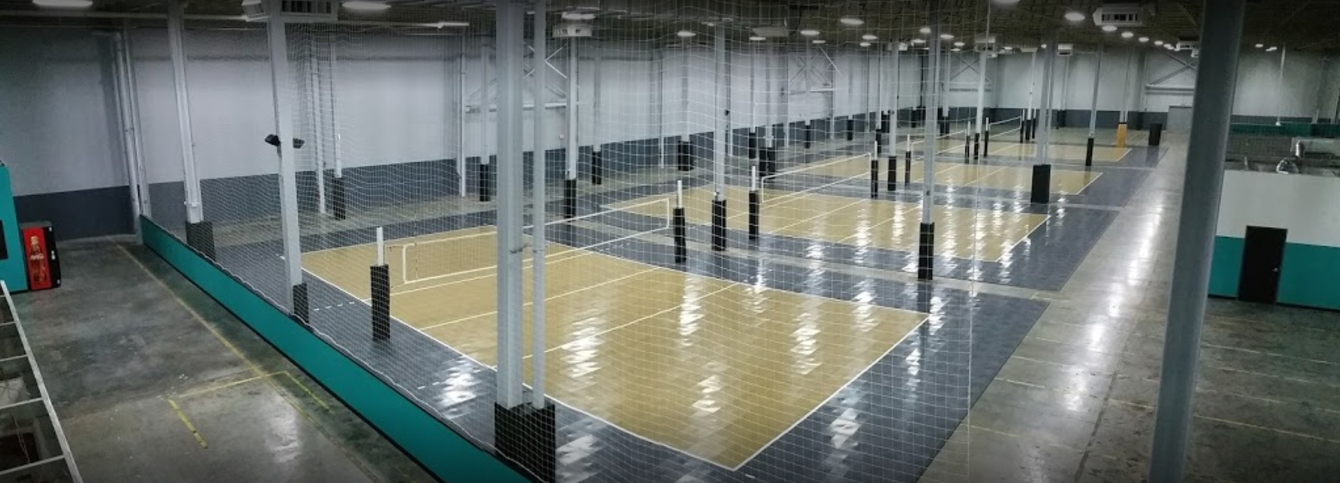 11 Volleyball Courts