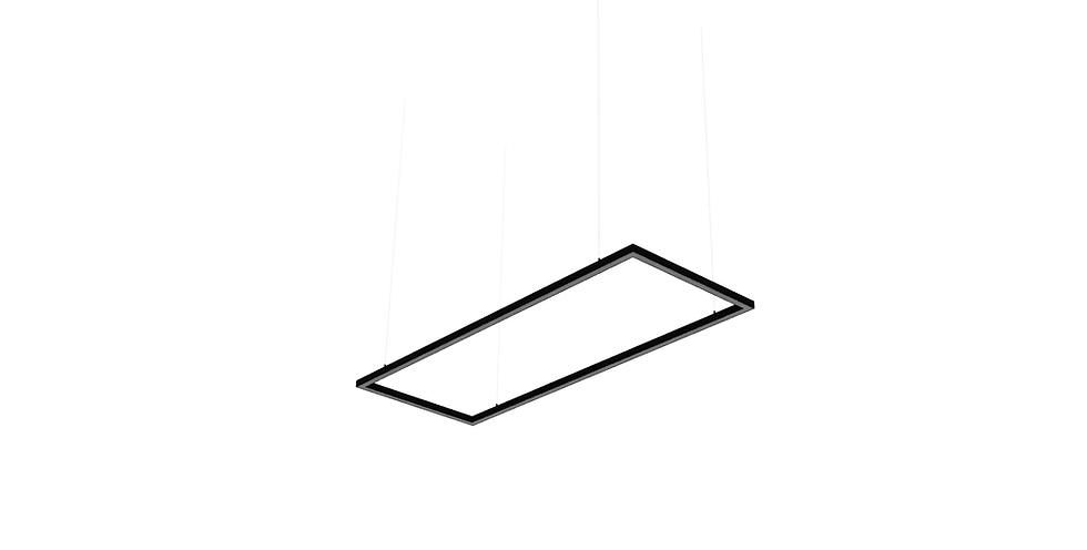 ZAP Rectangular pendant