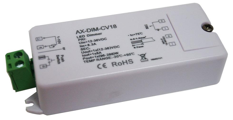 1 x 8Amp 1-10V Dimming module AX-PWM-CV18