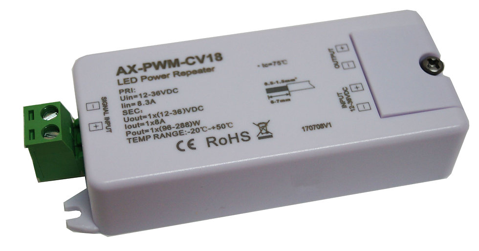 1 x 8Amp LED Repeater AX-PWM-CV18