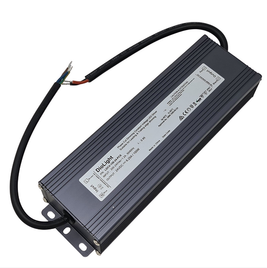 DioLight 150W 24V IP67 PC DIM LED DRIVER