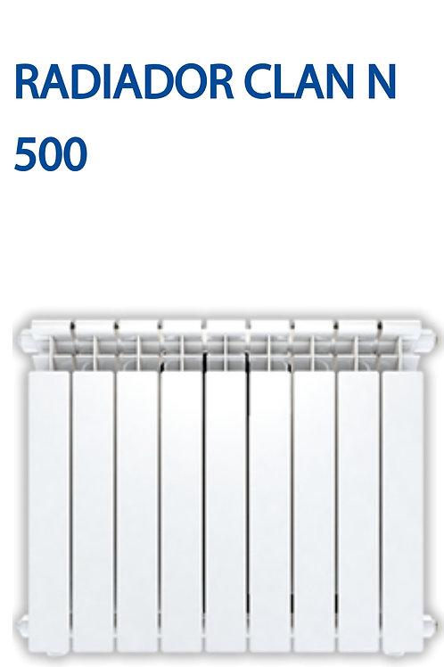 Radiador calefacción Caldaia clan N 500