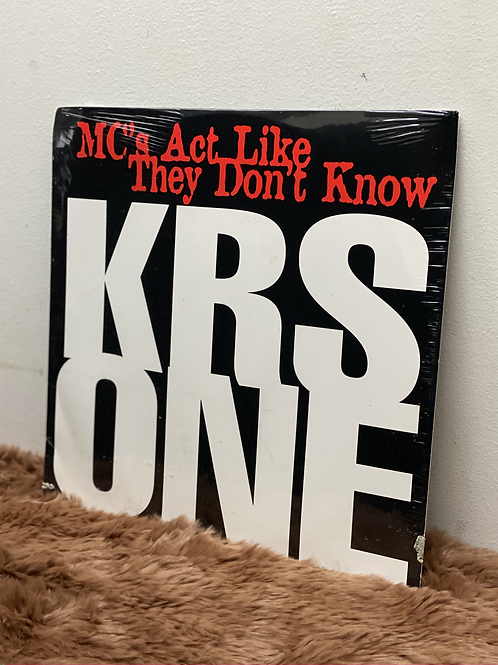 KRS ONE /MC's Act Like They Don't Know (12inch)