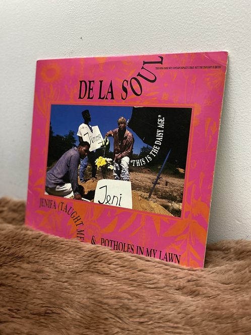 DE LA SOUL/JENIFA(TAUGHT ME)&POTHOLES IN MY LAWN 12inch