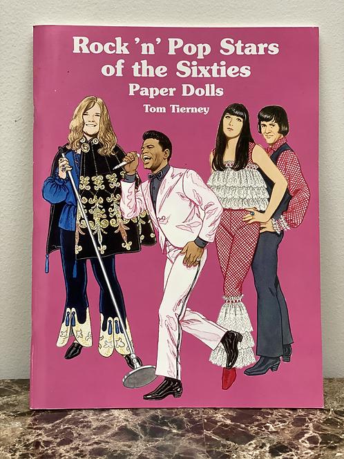 Rock'n'Pop Stars of the Sixties Paper Dolls Tom Tierney