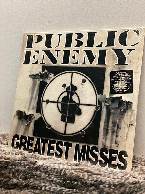 PUBLIC ENEMY/GREATEST MISSES (2LP)