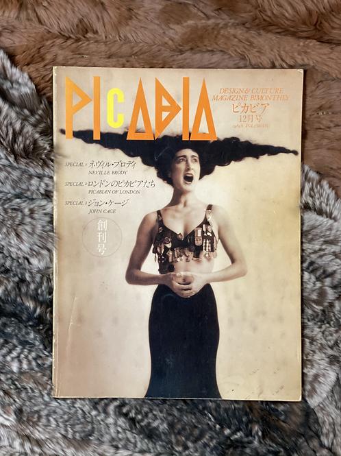 PICABIA 創刊号 1989