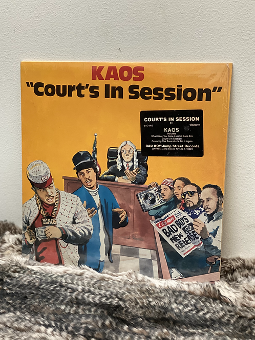KAOS /Court's In Session (LP)