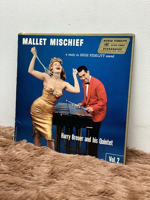 Harry Breuer and his Quintet/MALLET MISCHIEF Vol.2(LP)