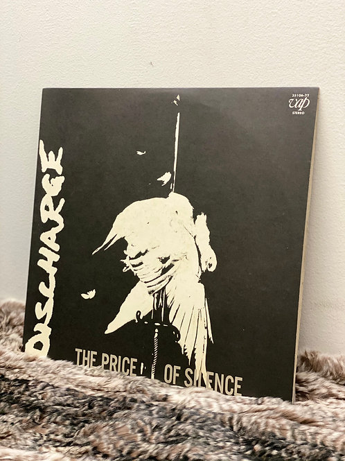 DISCHARGE/THE PRICE OF SILENCE(LP)