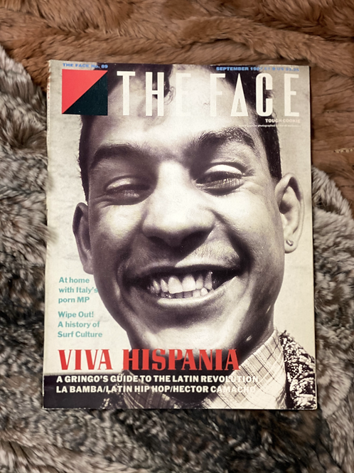 16.THE FACE  SEP. 1987