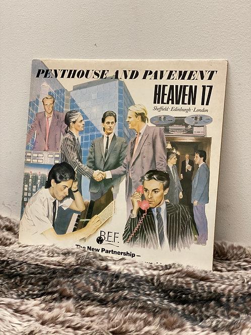 HEAVEN 17 /PENTHOUSE AND PAVEMENT (LP)