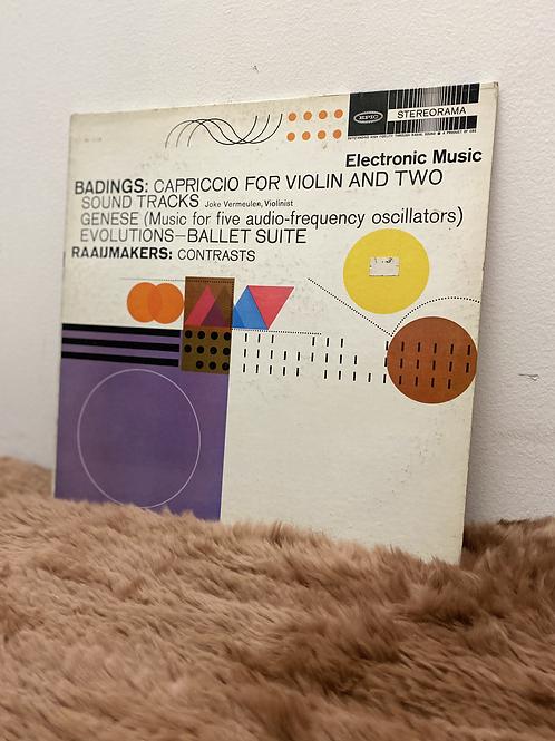 BADINGS&RAAIJMAKERS/ELECTRONIC MUSIC