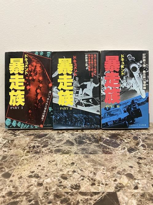 ドキュメント暴走族 PT1,2&3