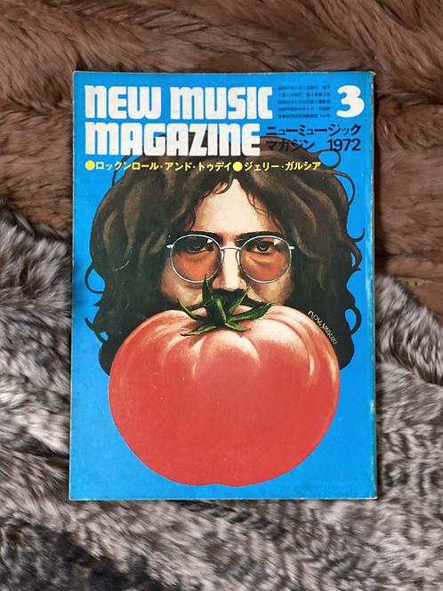 NEW MUSIC MAGAZINE  mar.  1972
