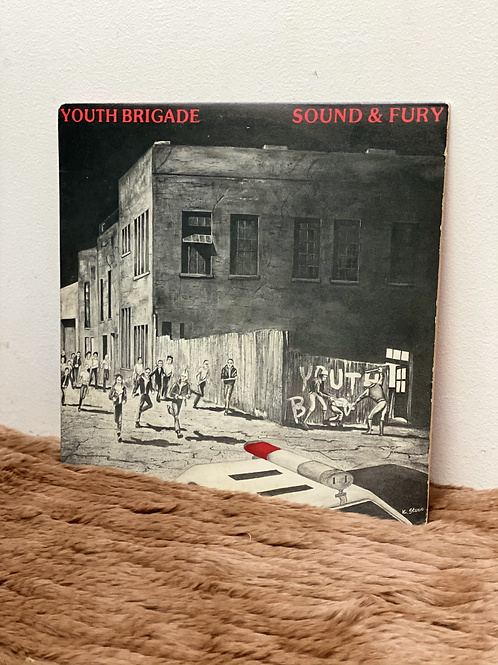 YOUTH BRIGADE/SOUND&FURY (LP)