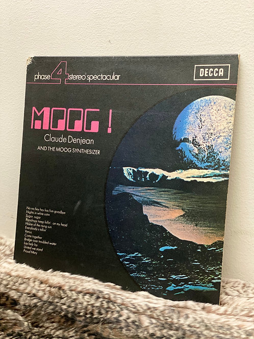 Claude Denjean AND THE MOOG SYNTHESIZER/MOOG! (LP)