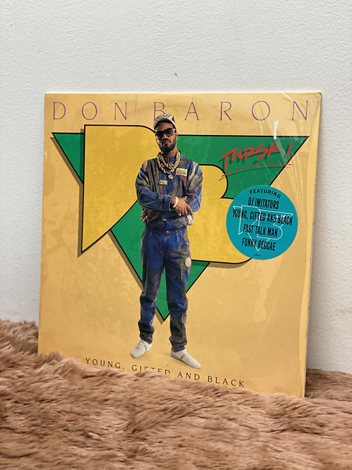 DON BARON /YOUNG,GIFTED AND BLACK(LP)