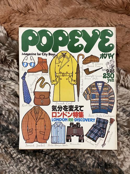 POPEYE  1979 9/25