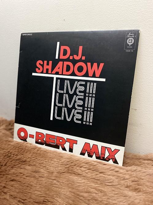 DJ SHADOW/Q-BERT MIX LIVE