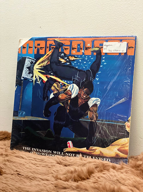 MAGGOTRON /THE INVASION WILL NOT BE TELEVISED (LP)