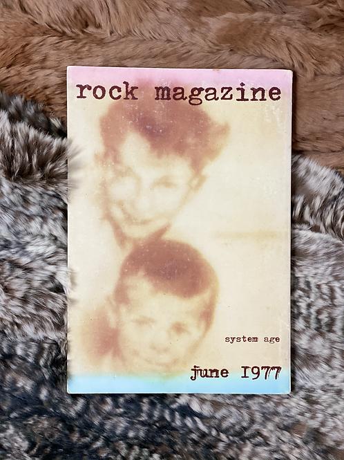 ROCK MAGAZINE June 1977