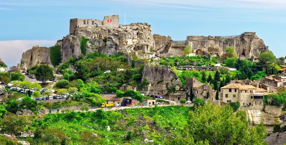Une journée aux Baux de Provence à 7km de l'hôtel Terriciaë
