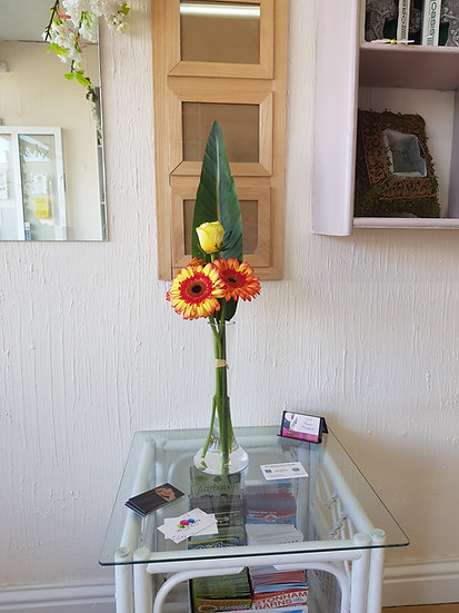 Rose & Gerbera Arrangement