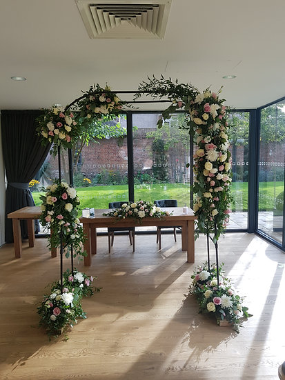 DRESSED WEDDING ARCH