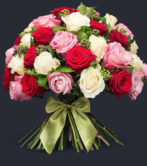 Luxury Mixed Rose Bouquet