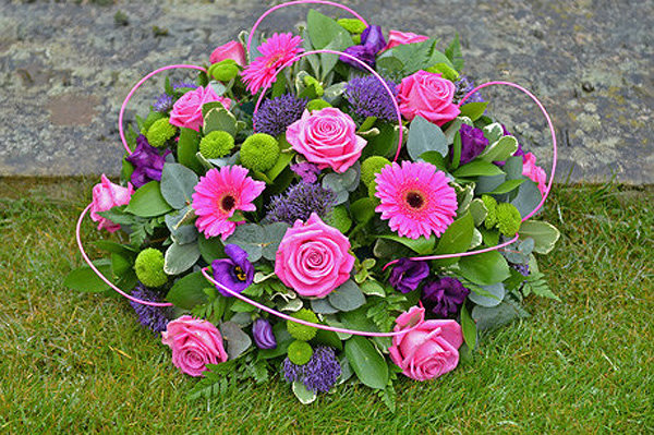 LUXURY RUSCUS BASED POSY